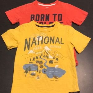 Carters t-shirts
